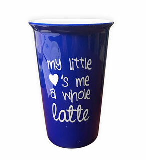 My Little Loves Me A Whole Latte - Mug