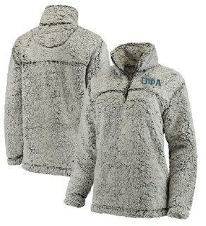 Theta Phi Alpha Sherpa Quarter Zip Pullover