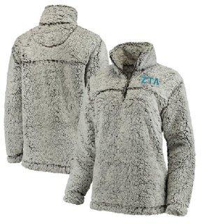Zeta Tau Alpha Sherpa Quarter Zip Pullover