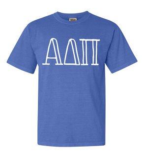 Alpha Delta Pi Comfort Colors Heavyweight Design T-Shirt