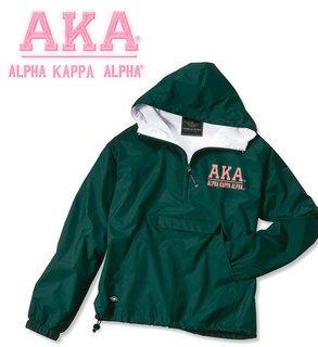 Alpha Kappa Alpha Greek Letter Anoraks