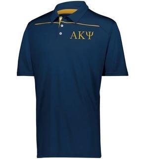 Alpha Kappa Psi Subtle Greek Letter Defer Polo