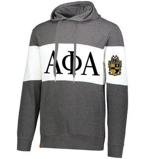 Alpha Phi Alpha Ivy League Hoodie W Crest On Left Sleeve