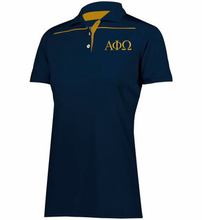Alpha Phi Omega Subtle Greek Letter Defer Polo