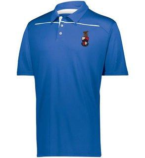 Beta Theta Pi Greek Crest Emblem Defer Polo