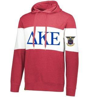 Delta Kappa Epsilon Ivy League Hoodie W Crest On Left Sleeve