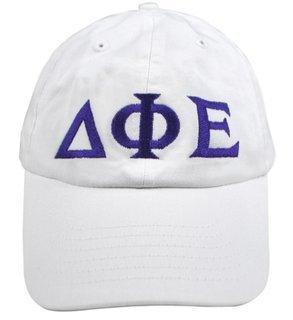 Delta Phi Epsilon Greek Letter Hat