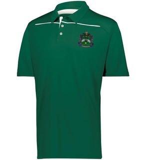 Delta Sigma Phi Greek Crest Emblem Defer Polo