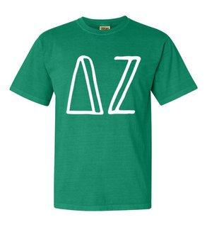 Delta Zeta Comfort Colors Heavyweight Design T-Shirt