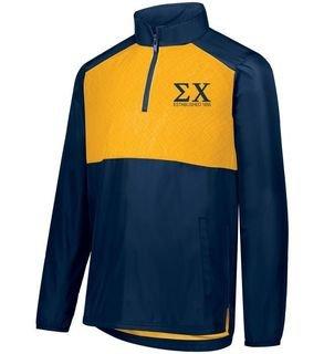 Fraternity SeriesX Custom 1/4 Zip Pullover Jacket