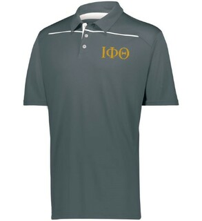 Iota Phi Theta Subtle Greek Letter Defer Polo