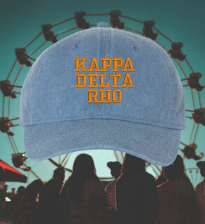 Kappa Delta Rho Hats & Face Masks