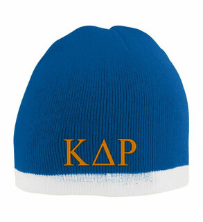 Kappa Delta Rho Two Tone Knit Beanie