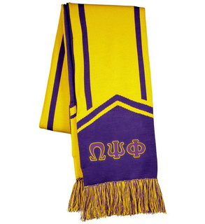 Omega Psi Phi Homecoming Scarf