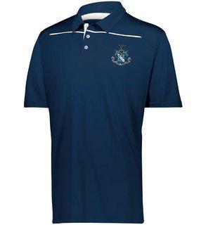 Phi Delta Theta Greek Crest Emblem Defer Polo