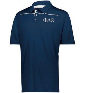 Phi Delta Theta Subtle Greek Letter Defer Polo