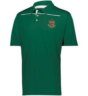 Phi Kappa Psi Greek Crest Emblem Defer Polo