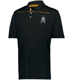 Phi Kappa Sigma Greek Crest Emblem Defer Polo