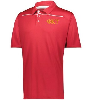 Phi Kappa Tau Subtle Greek Letter Defer Polo