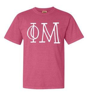 Phi Mu Comfort Colors Heavyweight Design T-Shirt