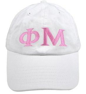 Phi Mu Greek Letter Hat