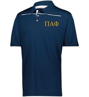 Pi Alpha Phi Subtle Greek Letter Defer Polo