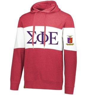 Sigma Phi Epsilon Ivy League Hoodie W Crest On Left Sleeve