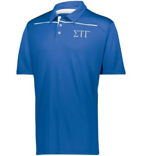 Sigma Tau Gamma Subtle Greek Letter Defer Polo