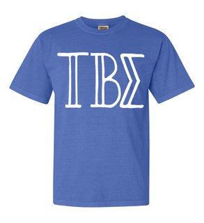 Tau Beta Sigma Comfort Colors Heavyweight Design T-Shirt
