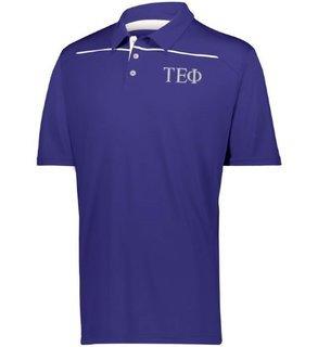 Tau Epsilon Phi Subtle Greek Letter Defer Polo
