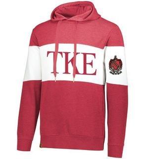Tau Kappa Epsilon Ivy League Hoodie W Crest On Left Sleeve