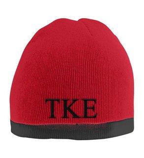 Tau Kappa Epsilon Two Tone Knit Beanie