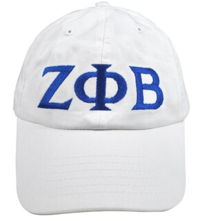 Zeta Phi Beta Greek Letter Hat