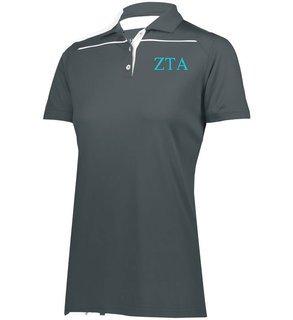 Zeta Tau Alpha Greek Letter Defer Polo