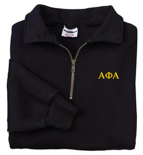 Alpha Phi Alpha Sweatshirt - Quarter Zip