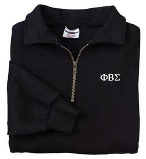 DISCOUNT-Phi Beta Sigma Sweatshirt - Quarter Zip