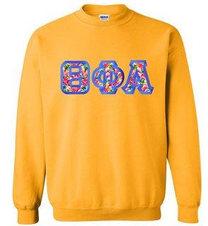 $25 Theta Phi Alpha Custom Twill Sweatshirt