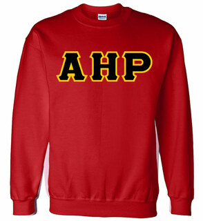 Alpha Eta Rho Lettered Crewneck Sweatshirt