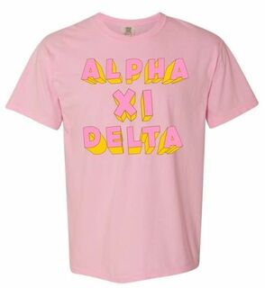 Comfort Colors Fraternity & Sorority 3Delightful T-Shirt
