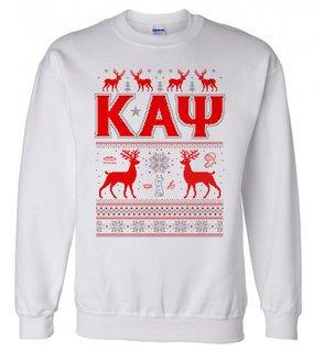 Kappa Alpha Psi Ugly Christmas Sweater Crewneck Sweatshirt