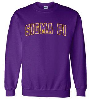 Sigma Pi Letterman Twill Crew