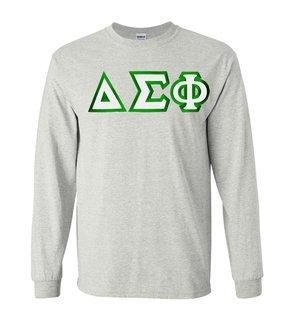 Delta Sigma Phi Custom Twill Long Sleeve T-Shirt