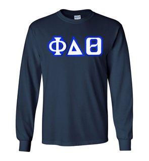 Phi Delta Theta Custom Twill Long Sleeve T-Shirt