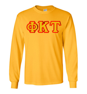 Phi Kappa Tau Custom Twill Long Sleeve T-Shirt