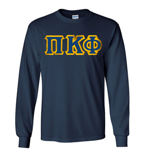 Pi Kappa Phi Custom Twill Long Sleeve T-Shirt