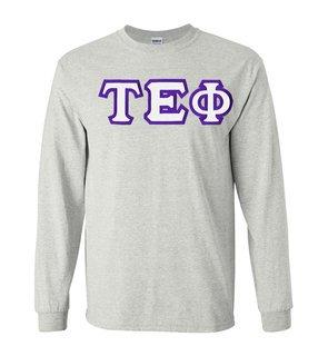Tau Epsilon Phi Custom Twill Long Sleeve T-Shirt