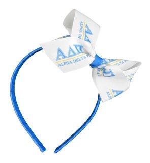 Alpha Delta Pi Headband with Bow