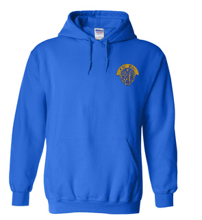 DISCOUNT-Chi Phi Crest - Shield Emblem Hooded Sweatshirt