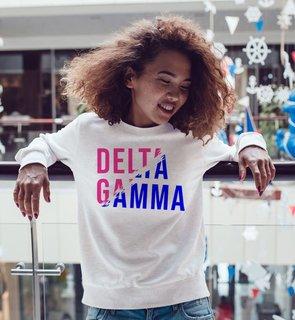 Delta Gamma Ripped Favorite Crewneck