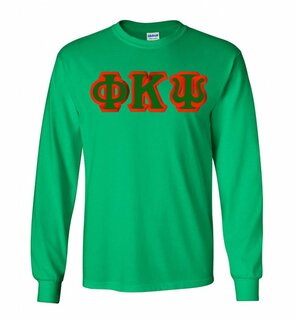 Phi Kappa Psi Lettered Long Sleeve Shirt